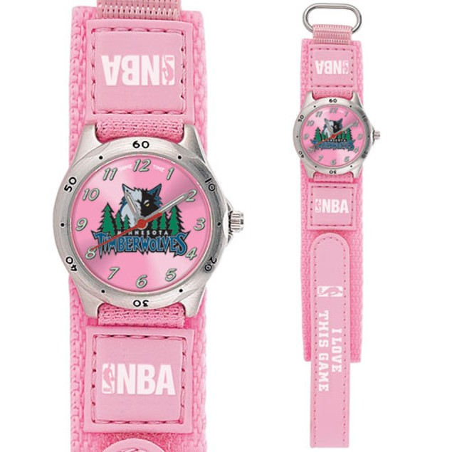 Minnesota Timberwolves Girls NBA Watch
