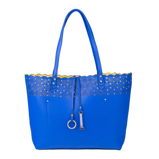 MKF Collection Two-Color Reversible Shopper's Tote