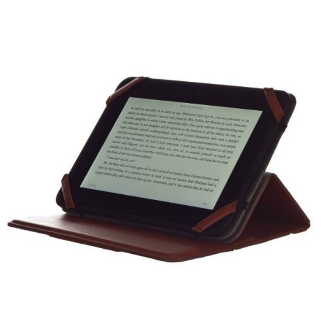 """M-Edge Incline Case For Kindle Fire Hd 7"""" (Red)"""