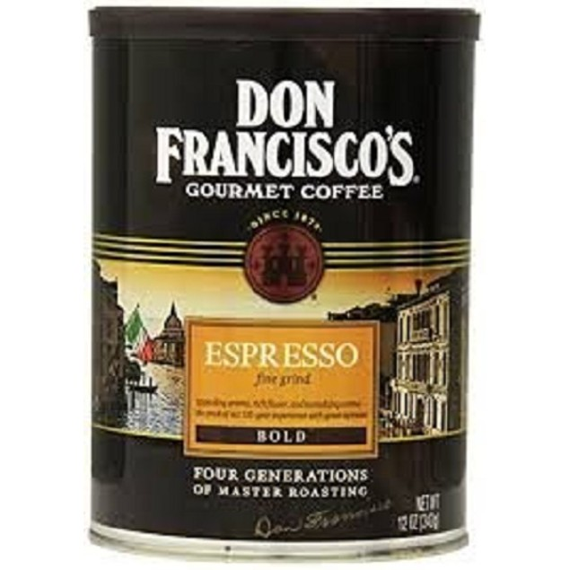 Don Francisco's Gourmet Coffee Espresso