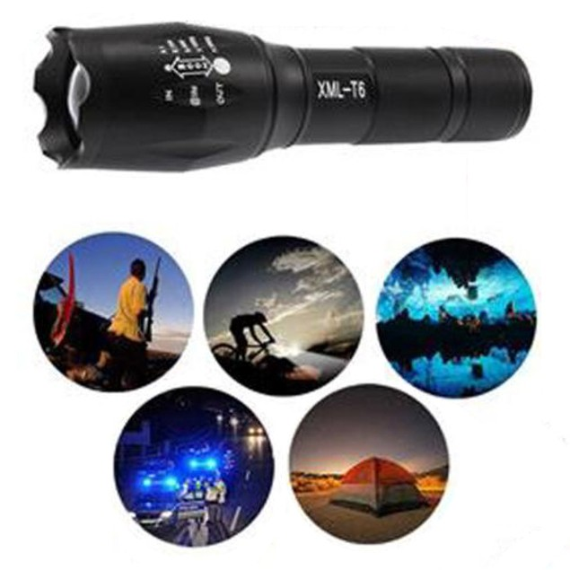 X800 Tactical Flashlight LED Military Lumens Alonefire