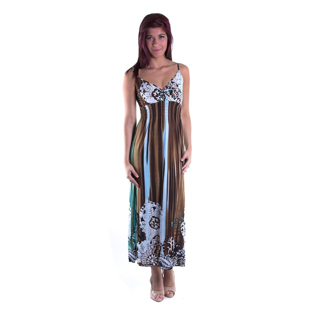 Wrap Paisley Maxi Dress With Accents - 4 Fun Colors!
