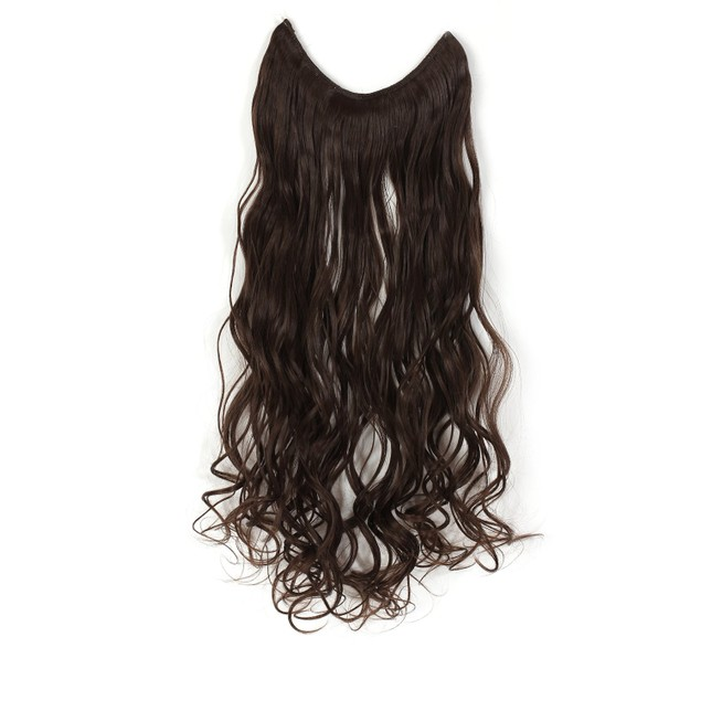 """OneDor 20""""/24"""" Curly/Straight Synthetic Hair Extensions"""