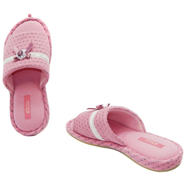 Women's Designer Bow and Dots Slippers
