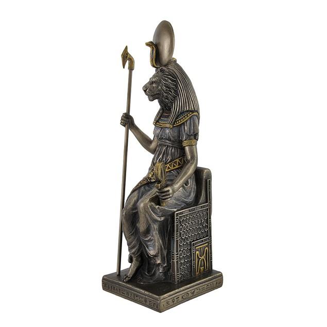 Egyptian Goddess Sekhmet Sitting On Throne Statue Statues