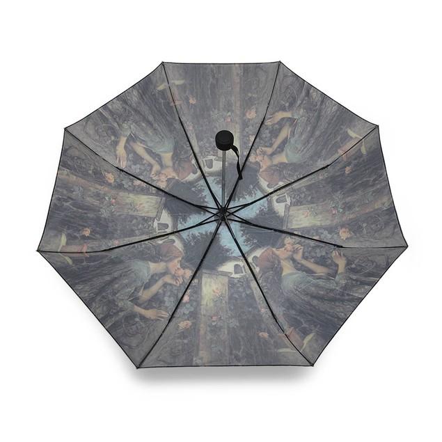 Charming `Sweet Roses` Super Mini Travel Umbrella Umbrellas