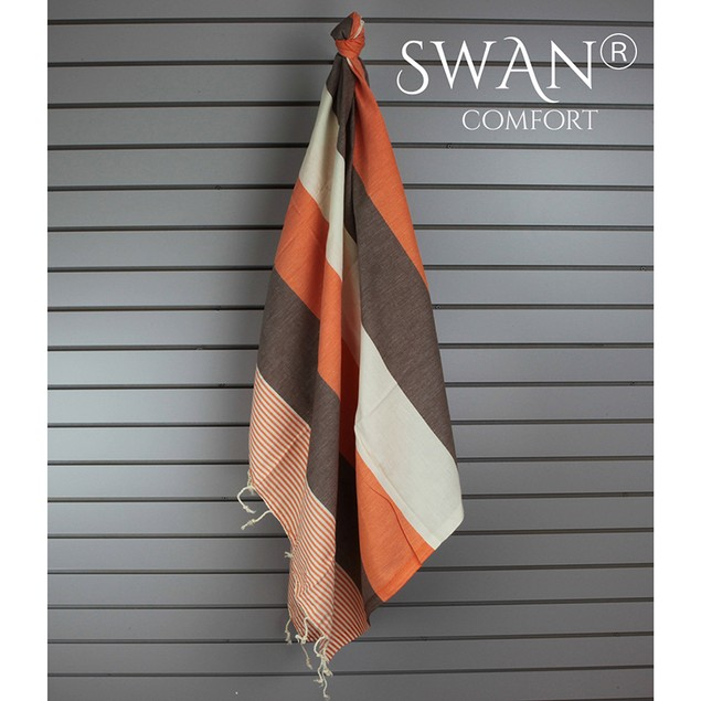 Swan Comfort 100% Organic Turkish Cotton Towel/Blanket/Coverup