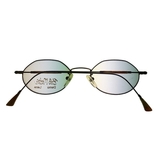 Bob Mackie Mens Opthalmic Eyeglass Metal Frames #777 Gold Tortoise