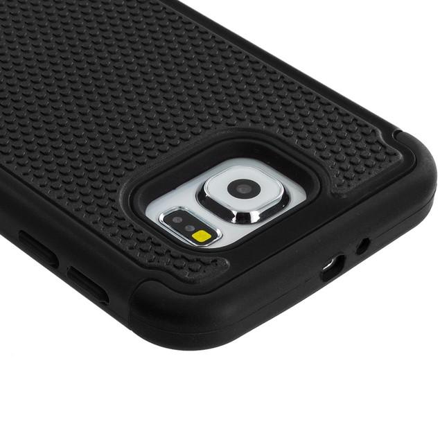Samsung Galaxy S6 Hybrid Rugged Armor Protector Hard Case Cover