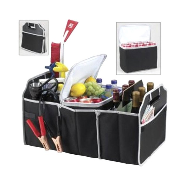 2-in-1 Trunk Organizer and Cooler Bag