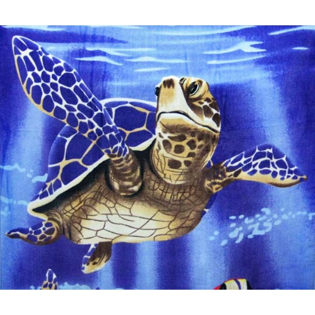 Swimming Sea Turtles Reactive Beach Towel 60 Beach Towels