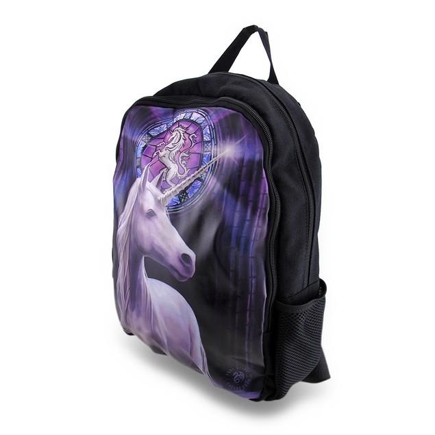 Anne Stokes Enlightenment Unicorn 15 X 12 Backpack Basic Multipurpose