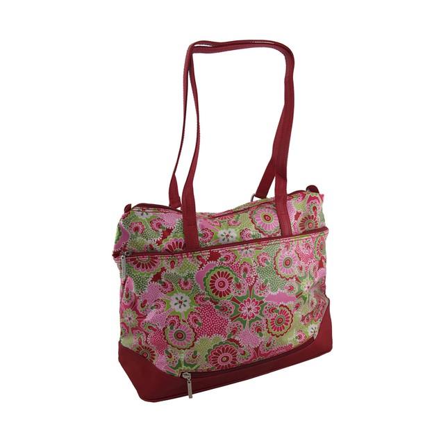 Hadaki Hannah's Tote Jazz Ruby Print Oversized Bag Womens Tote Bags