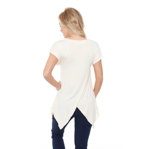 Women's 'Fenella' Embellished V-neck Top