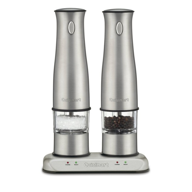 Cuisinart Stainless Steel Rechargeable Salt and Pepper Mills