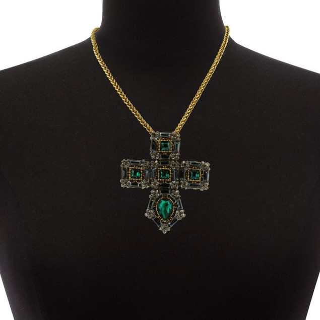 Cathedral Cross Necklace