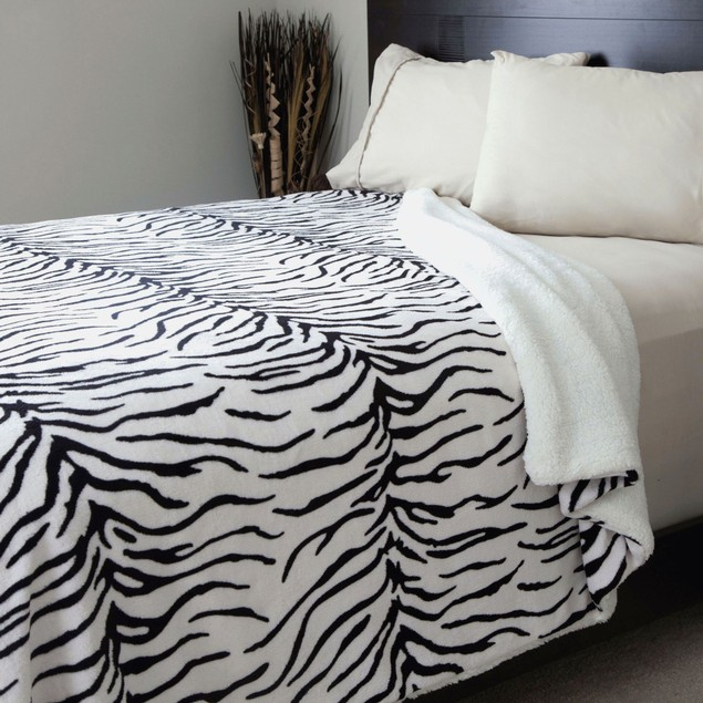 Lavish Home Animal Print Blanket