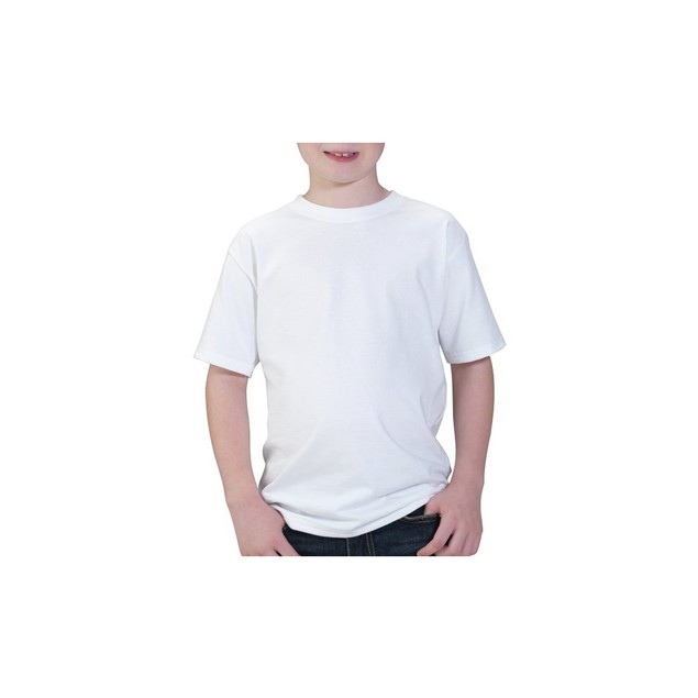 Fruit of the Loom Boy's 9 Pack White Crew Neck TShirts