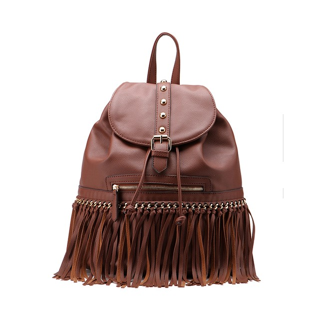 MKF MonicaFringed Backpack by Mia K Farrow - 10 Colors!