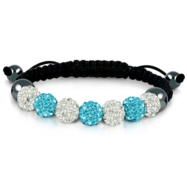 Genuine Austrian Crystal Macrame Bracelets