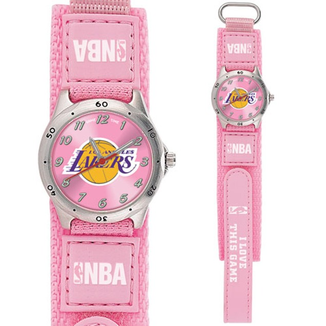 LA Lakers Girls NBA Watch