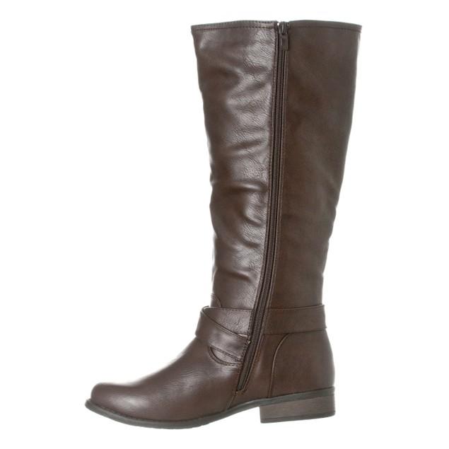 Riverberry Women's 'Sophia' Knee-High Riding Boot