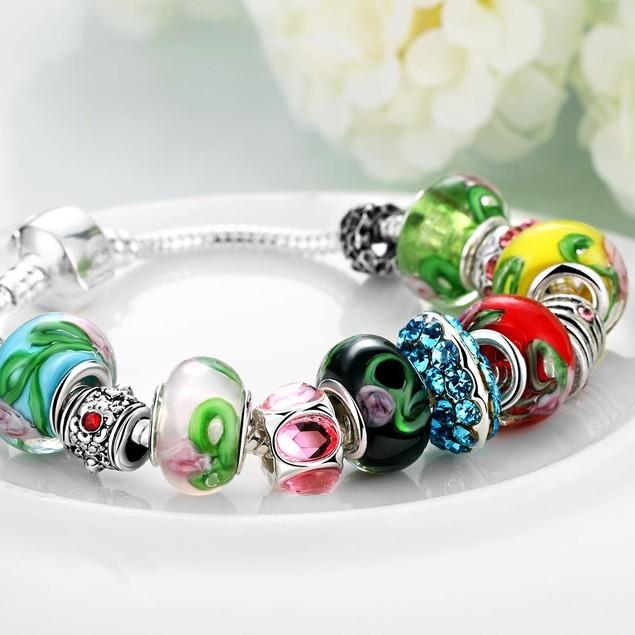 Colors Of the Rainbow Designer Inspired Bracelet