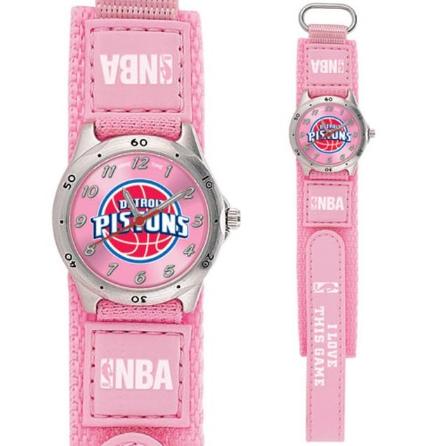 Detroit Pistons Girls NBA Watch