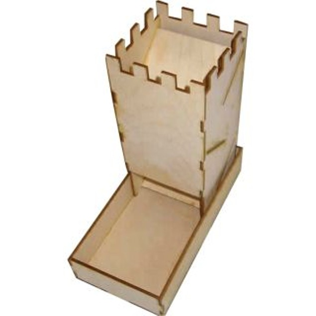 Blue Panther Birch Dice Tower Kit