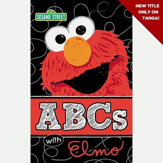 ABCs Elmo Short Spiral Wipe-Clean Book & Marker