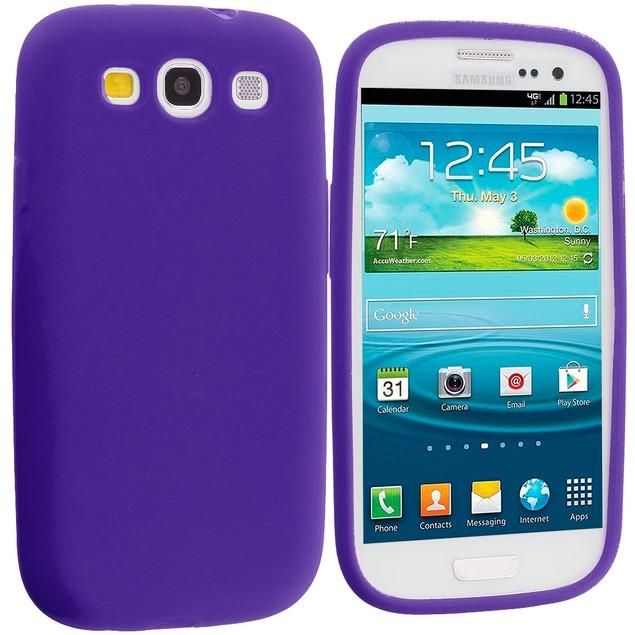 Samsung Galaxy S3 9300 Silicone Skin Case Cover
