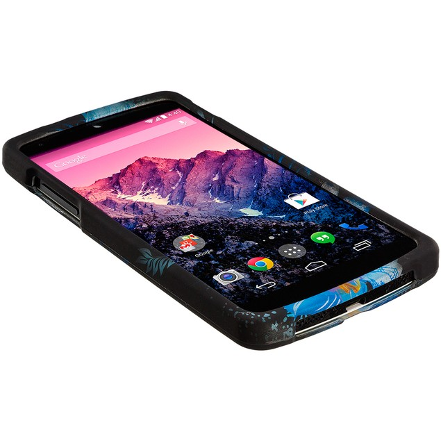 LG Google Nexus 5 Hard Rubberized Design Case Cover