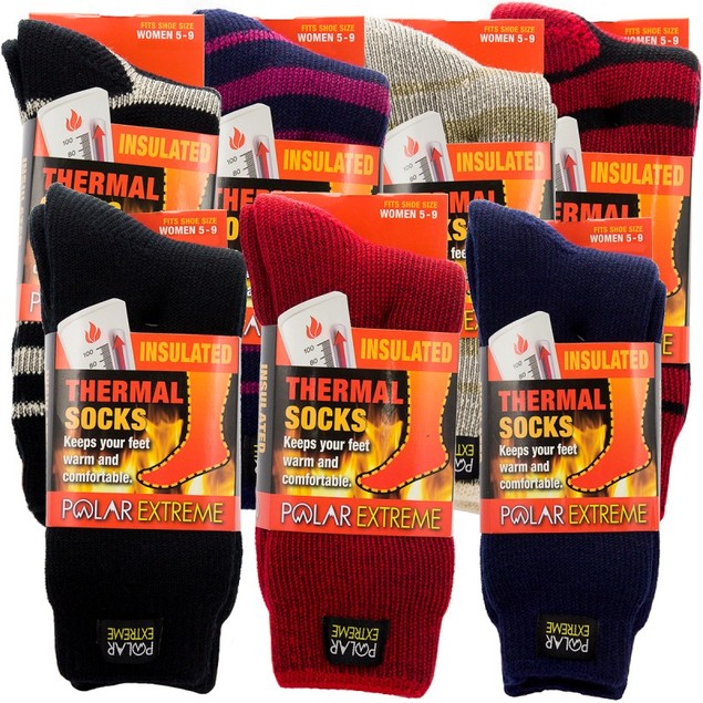 2-Pack Women's Polar Extreme Thermal Socks