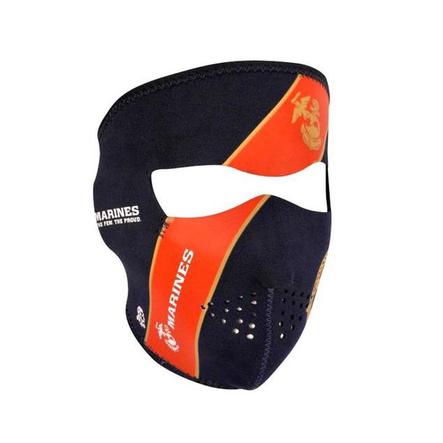 Neoprene Full Mask - USMC, Blue Crest