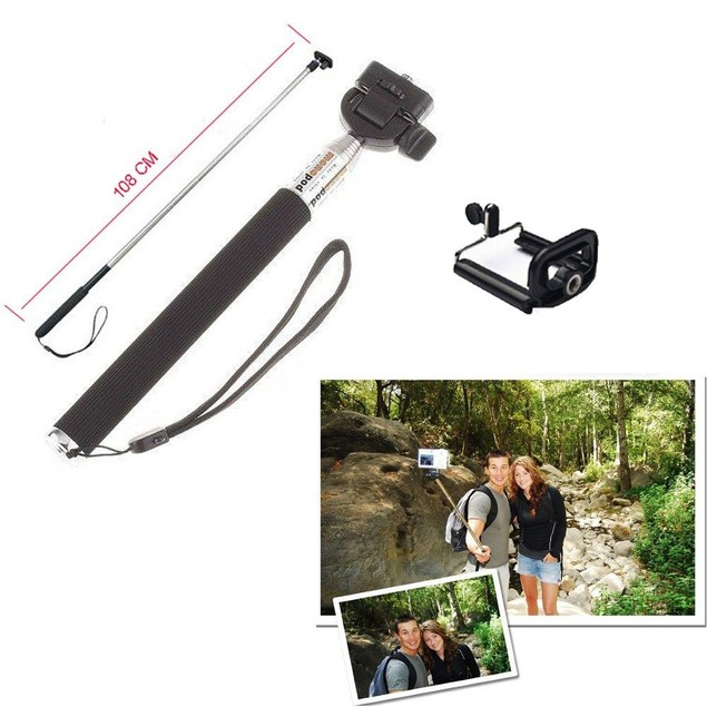 2-Pack Monopod Selfie Stick