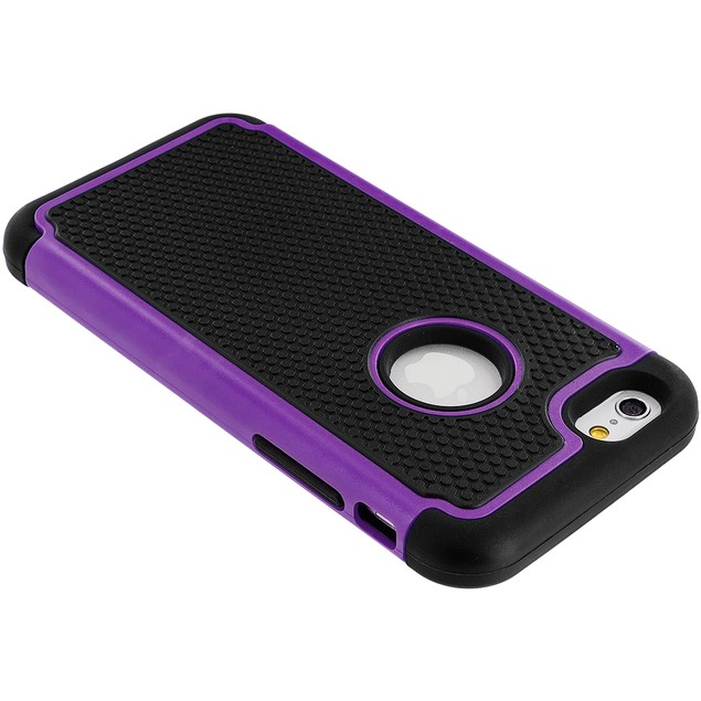 Apple iPhone 6 Plus (5.5) Hybrid Rugged Armor Protector Hard Case Cover