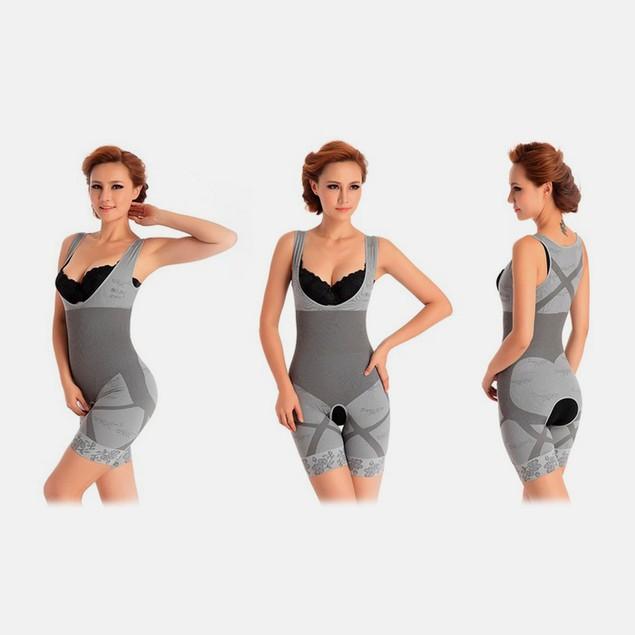 Women's Bamboo-Charcoal Slimming Bodysuit