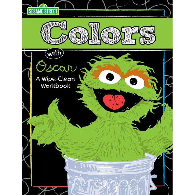 Sesame Colors with Ernie Wipe-Clean Workbook
