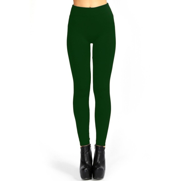 6-Pack Fleece-Lined Seamless Leggings