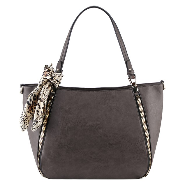 MKF Collection Zara Side Zip Tote by Mia K Farrow