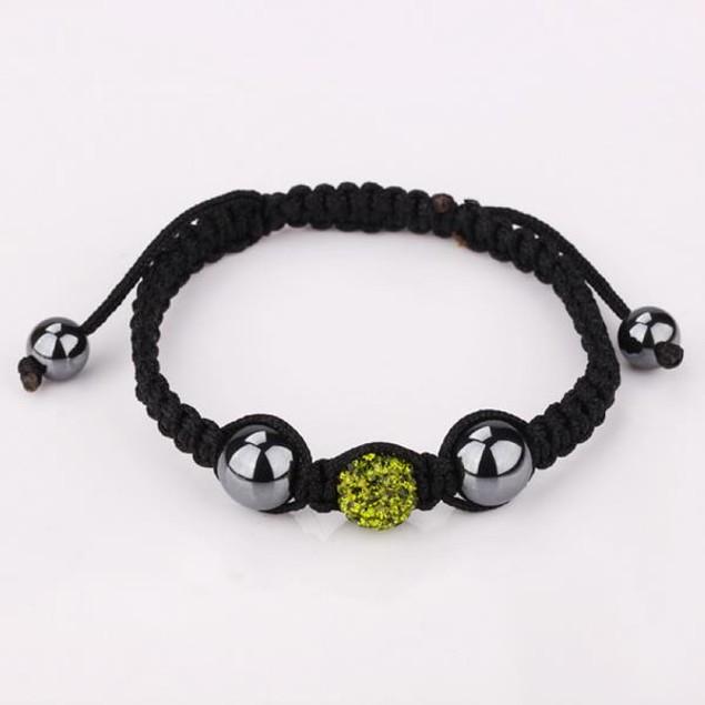 80's Glam Austrian Crystal Bracelet - Dark Emerald