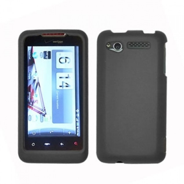 HTC Merge 6325 Hard Rubberized Case Cover