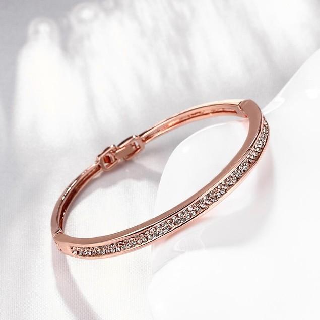 Rose Gold Plated Marie Bracelet
