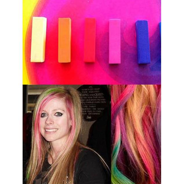 24 Piece Hair Chalk