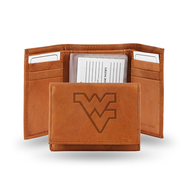 West Virgina Leather Manmade Trifold