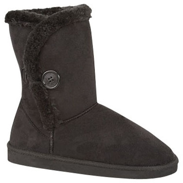 Cozy Australian 1-Button Foldable Boots