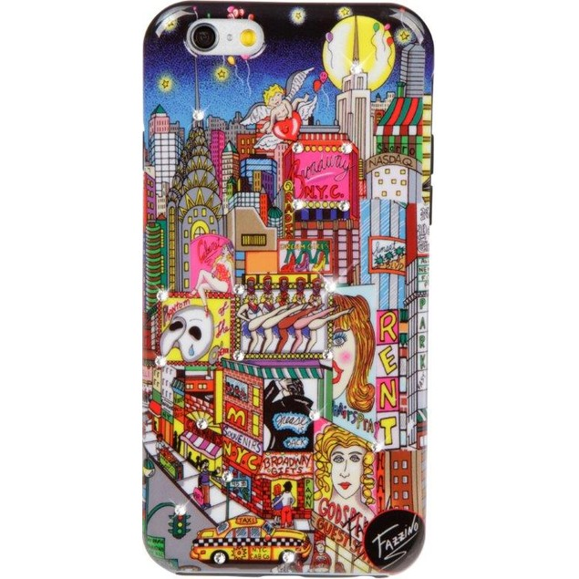 Fazzino Broadway Musical iPhone 6/6S Plus Case