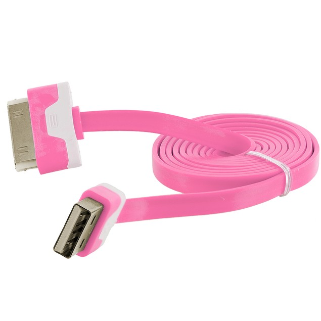 Apple iPhone 4 Noodle 30 Pin Charging Cable