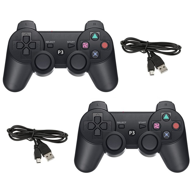 2-Pack Wireless Bluetooth Playstation 3 Controller