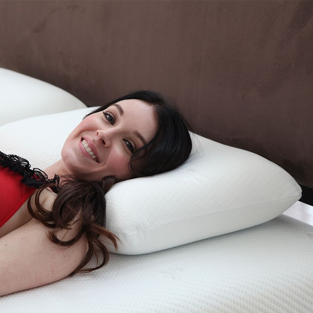 Remedy Cooling Gel Memory Foam Pillow with Cover